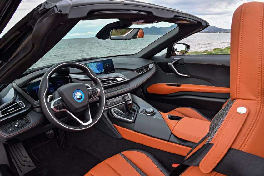 Bmw I8 Roadster 2019 Interni Bmw I8 Roadster 2019 Krakool