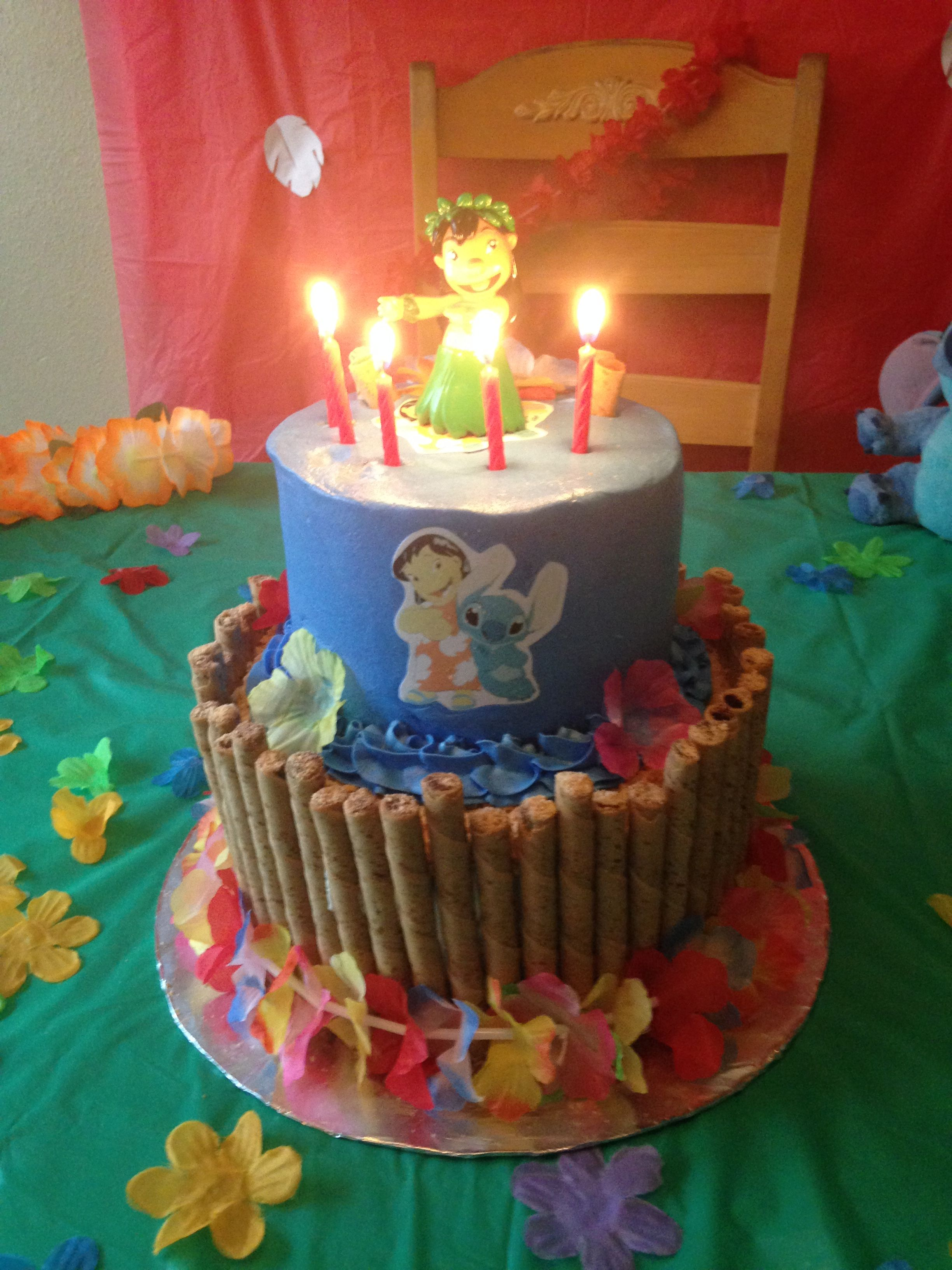 15 Awesome Lilo And Stitch Birthday Cake Birthday Activities