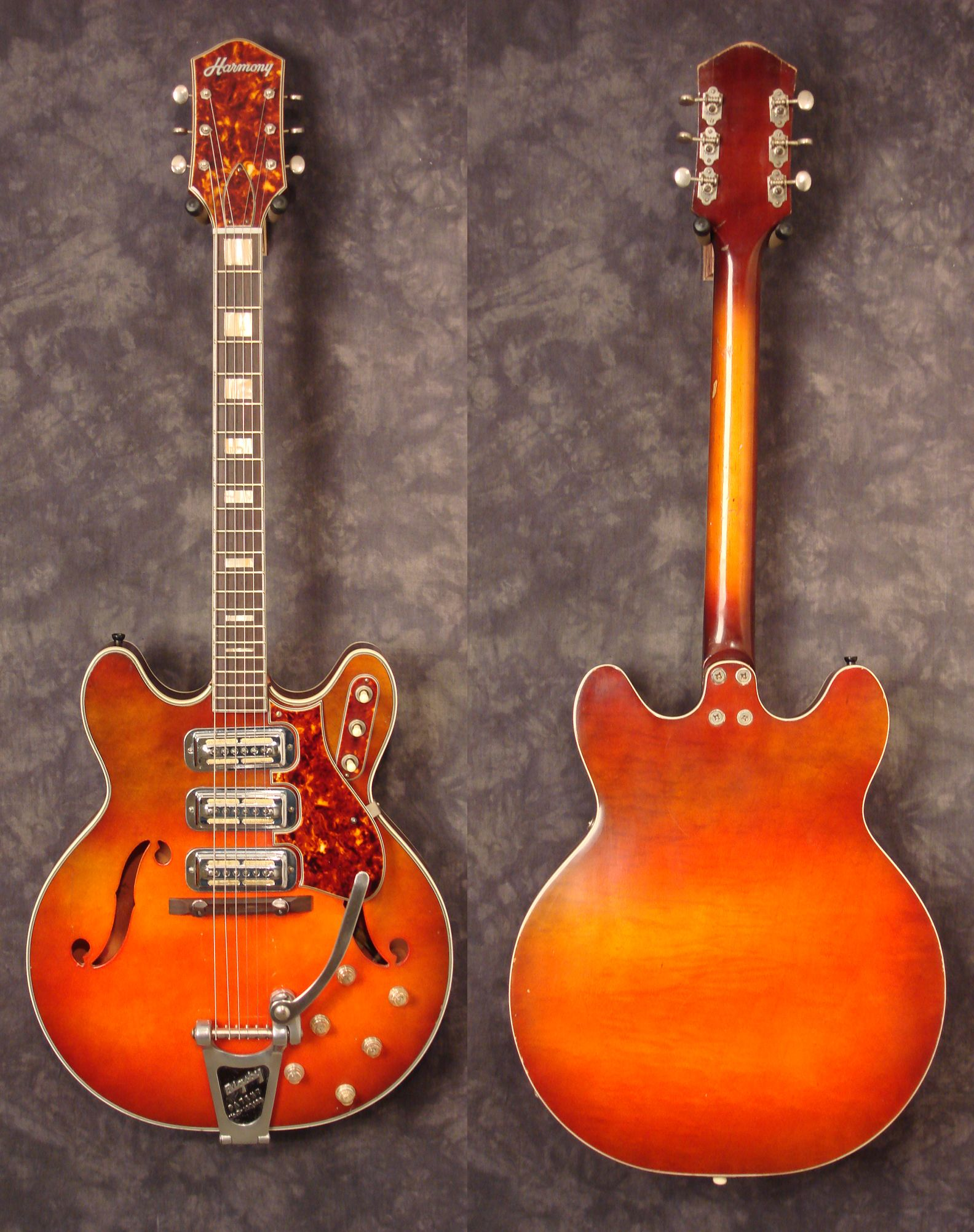 1964 Harmony H78 Dan Auerbach Uses One Of These A Lot Guitar