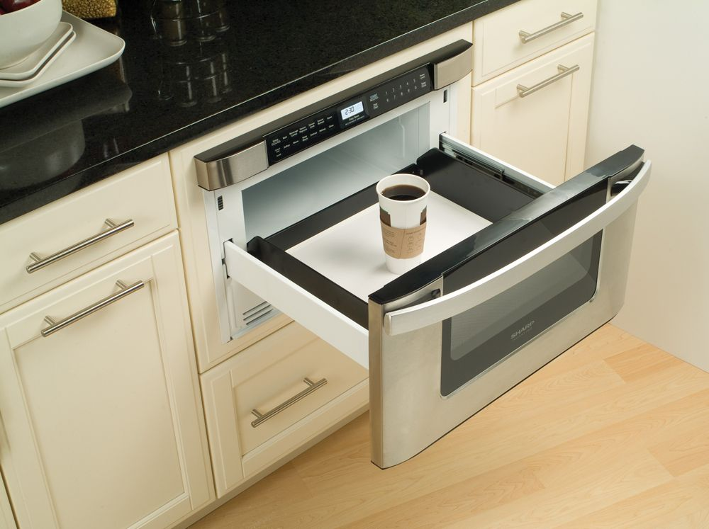 Kitchen Sharp Microwave Drawer Kitchen design, Kitchen