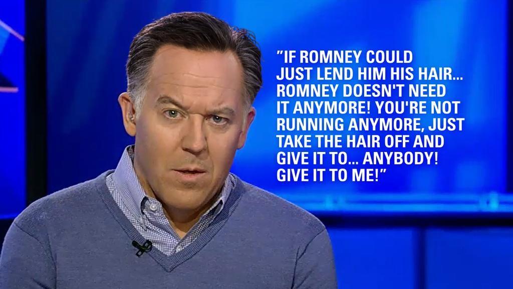 <3 If Greg Gutfeld had Mitt Romney hair by @FiveFanPS (January 2015)