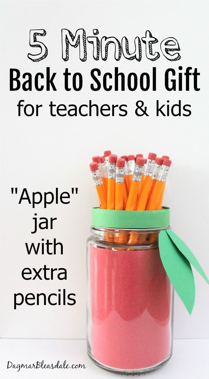 Back to school gift for teachers or your child teacher school and