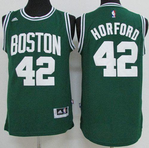 best service d1d2f e4ac4 Celtics #42 Al Horford Green(White No.) Stitched NBA Jersey ...