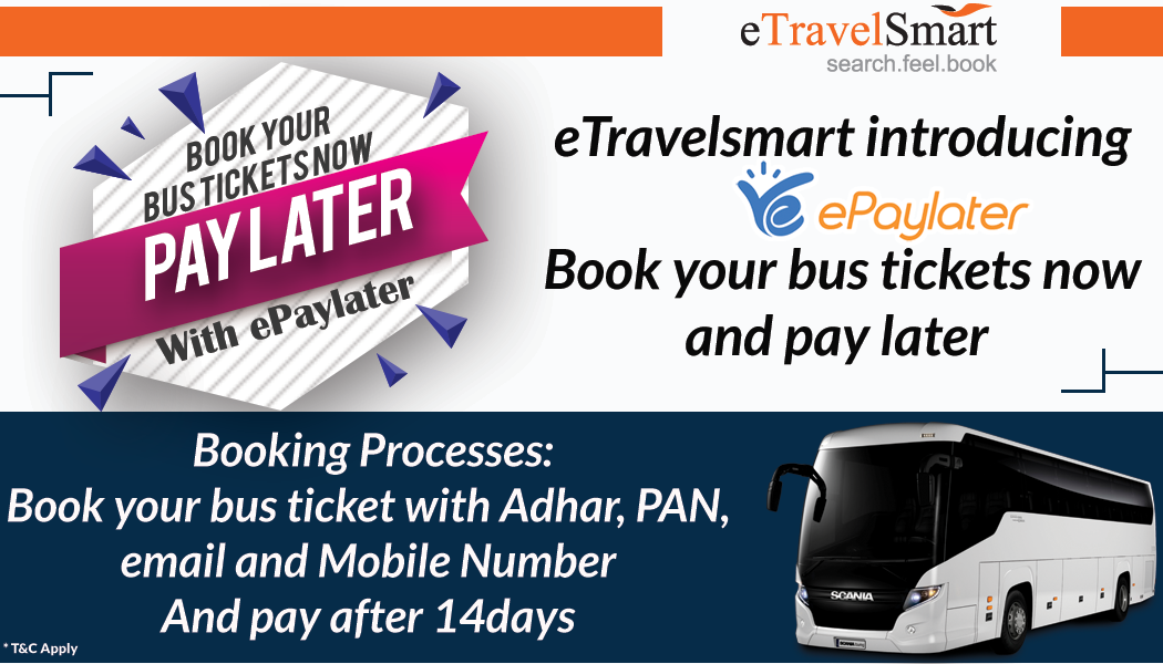 Bus Seat Booking Discount Upto Rs 200 Using Etsbus Online Tickets Bus Tickets Cheap Bus