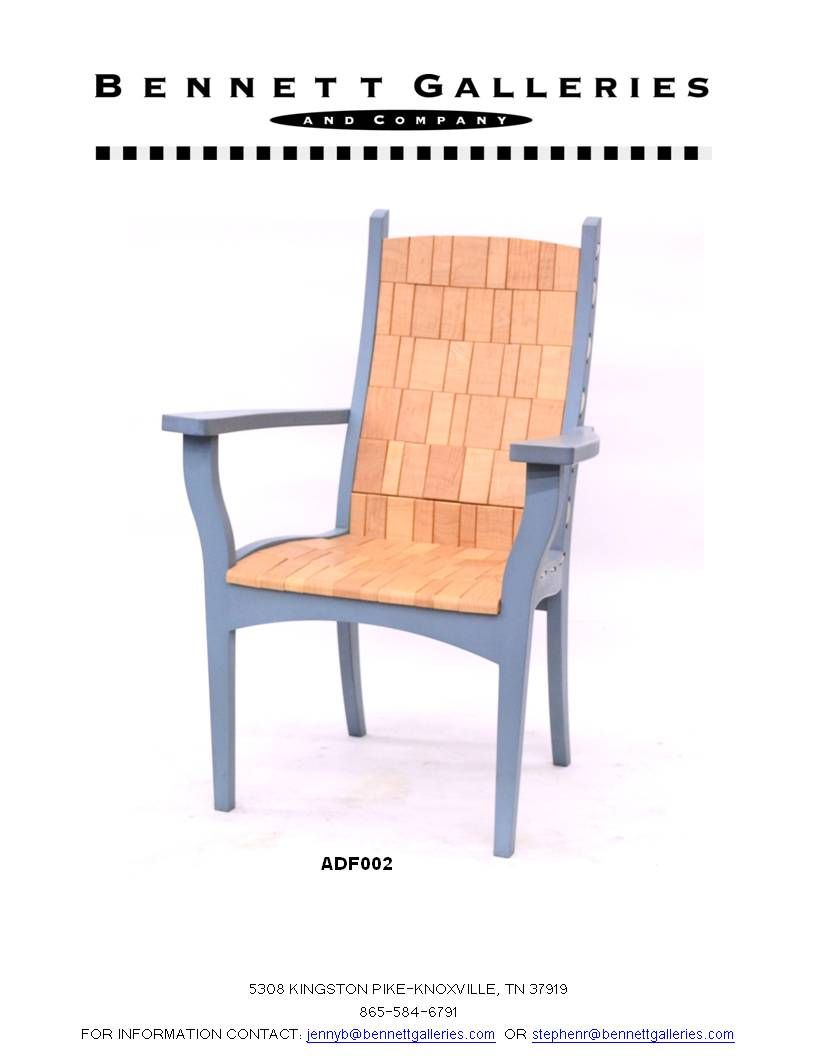 Hand Made Chair By Alan Daigre Come See These Beautiful