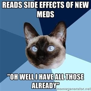 Chronic Illness Cat...You've gotta laugh!