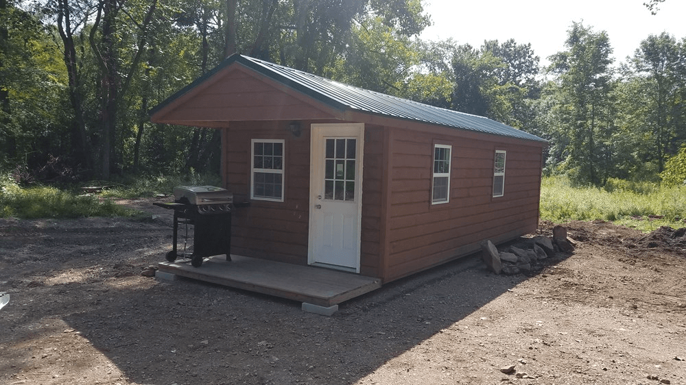 Tiny House Cabin Shed 10 X 24 River Road Glenmont New York 12077 Get Design Ideas From Used Tiny Hou Shed To Tiny House Tiny House Cabin Tiny Houses For Sale