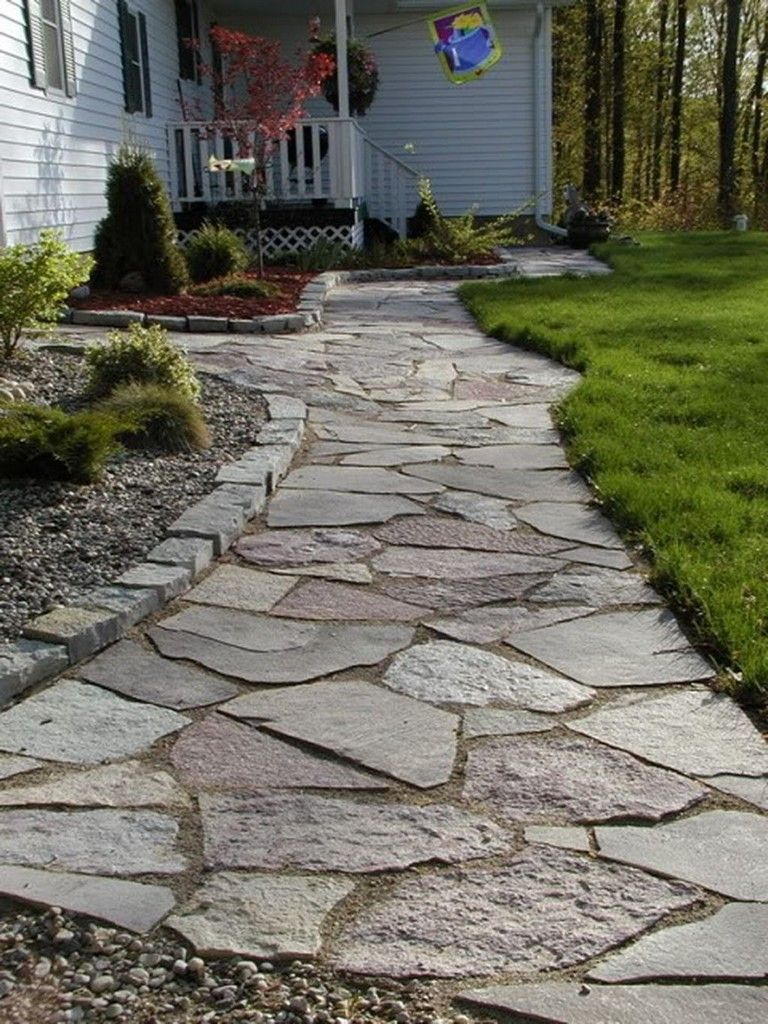35 Beauty Front Yard Pathways Landscaping Ideas On A Budget