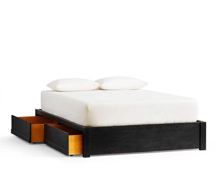 Storage Platform Bed in 2020 (With images