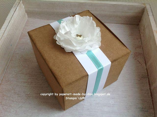 bl te aus butterbrotpapier verpackung boxes. Black Bedroom Furniture Sets. Home Design Ideas