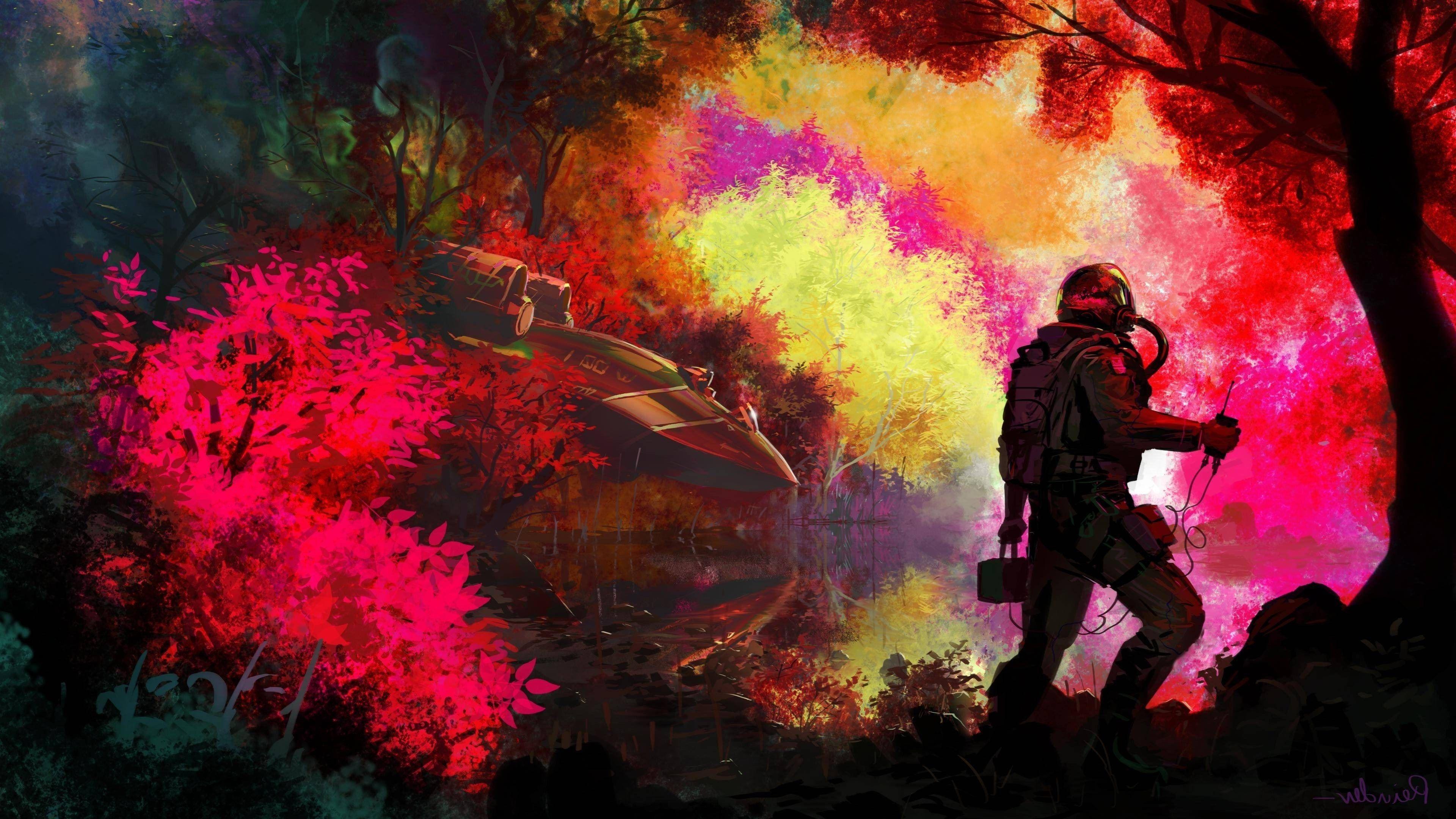 3840x2160 Astronaut 4k Free Hd Desktop Wallpaper Background