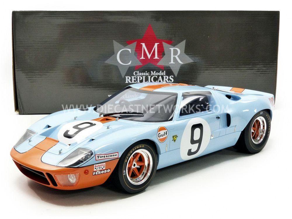 FORD GT 40 MK I CMR12005 GULF CMR WINNER LE MANS 1968 1//12