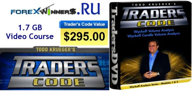 Todd Krueger Wyckoff Analysis Series Modules 1 And 2 Forex