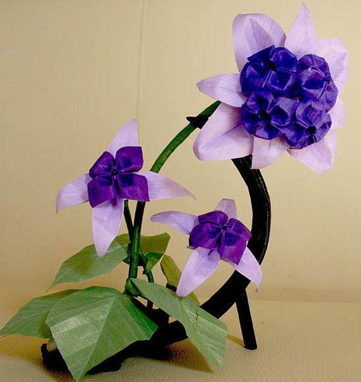 Different types of pretty origami flowers origami flower and different types of pretty origami flowers mightylinksfo