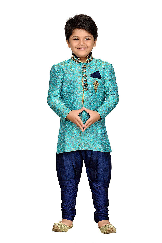 AJ Dezines kids festive and party wear Sherwani for boys | Kid\'s ...