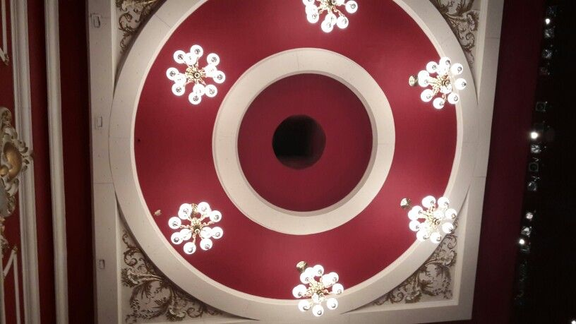 Ceiling rose in the Civic ... | Ceiling rose, Lighted ...
