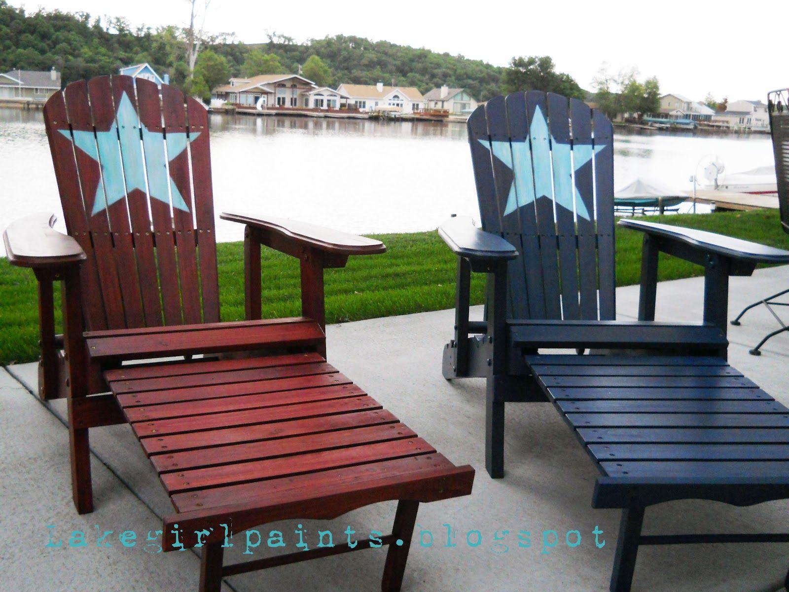 Patriotic Summer Beach Chairs Beach chairs, Chair