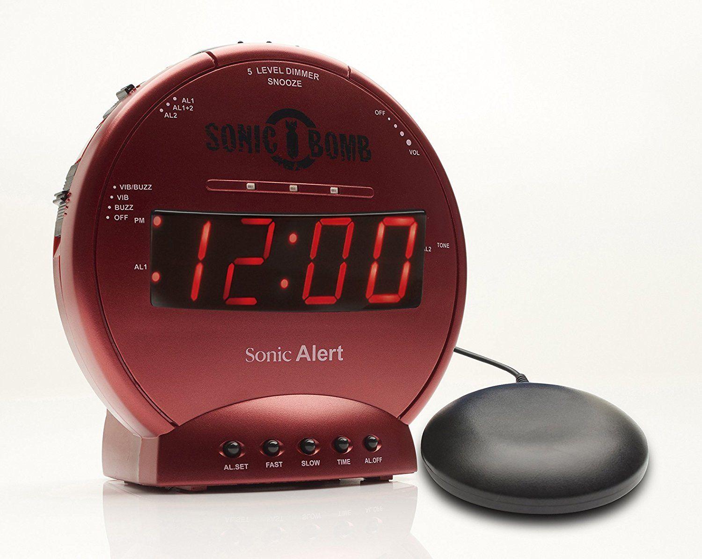 These Ridiculously Loud Alarm Clocks Wake Up Even The Heaviest Sleepers Loud Alarm Clock Alarm Clock Clock