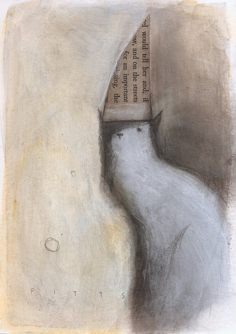 Cat with Important Hat by *Seth Fitts
