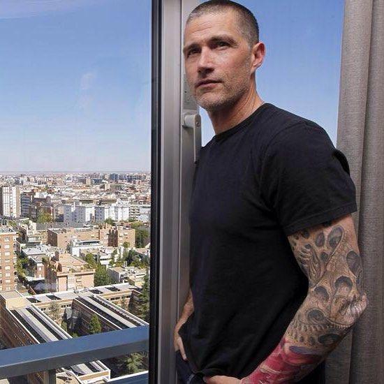 Matthewfox madrid spain tattoo tattoos lost for Jacks tattoo lost