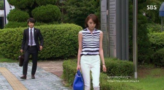 I Hear Your Voice Final Episode Lee Da Hee's stripe blouse