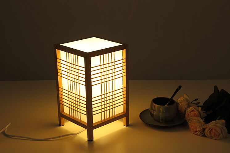 Find More Desk Lamps Information About Anese Style Wooden Lamp Home Decorative Design Tatami Bedroom Modern Lantern E27 Small Bedside Table