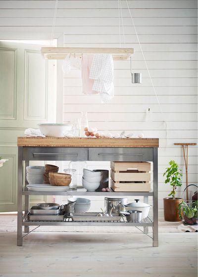 Cuisine Gris 15 Idees Pour Adopter La Couleur Cuisine Ikea Cuisine Gris Et Cuisines Design
