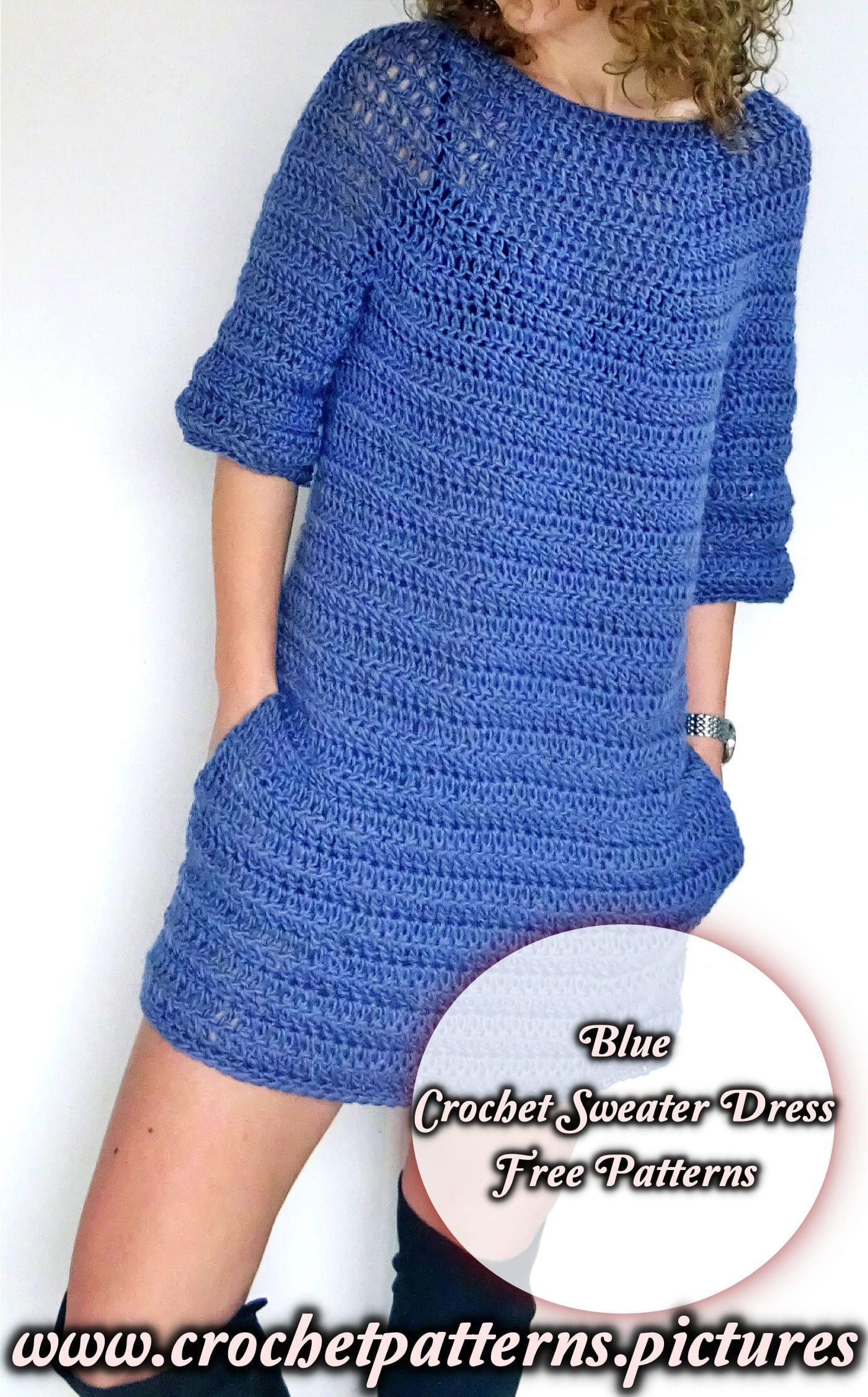 Pin On Crochet Sweater Dress Easy Free Patterns [ 2252 x 1400 Pixel ]