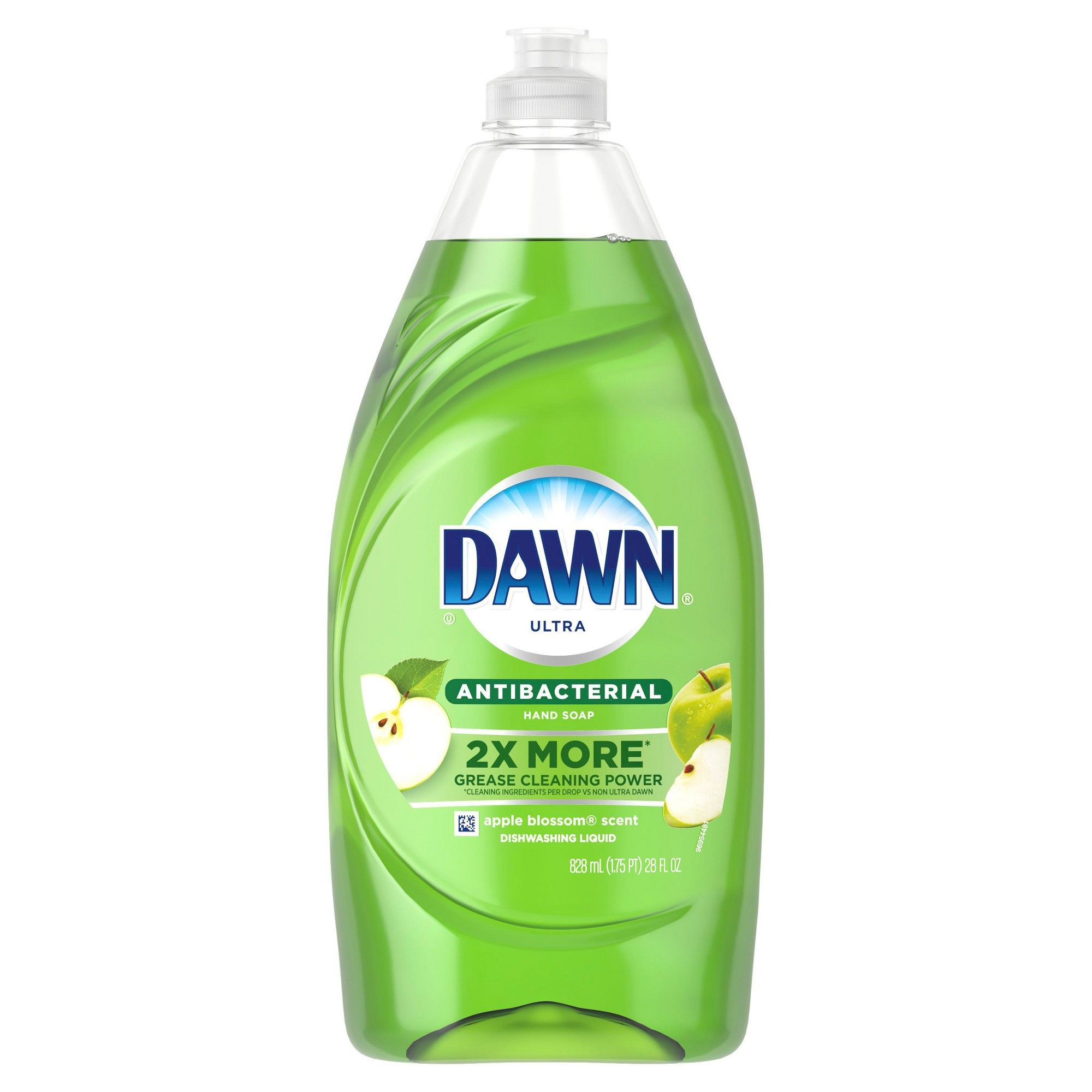 Dawn Ultra Antibacterial Dishwashing Liquid Dish Soap Apple