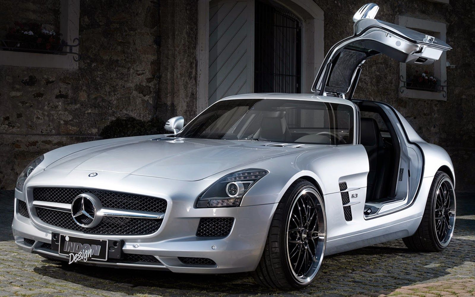 Mercedes SLS AMG Inden Design Best Wallpaper ~ Auto Cars | Auto Cars ...