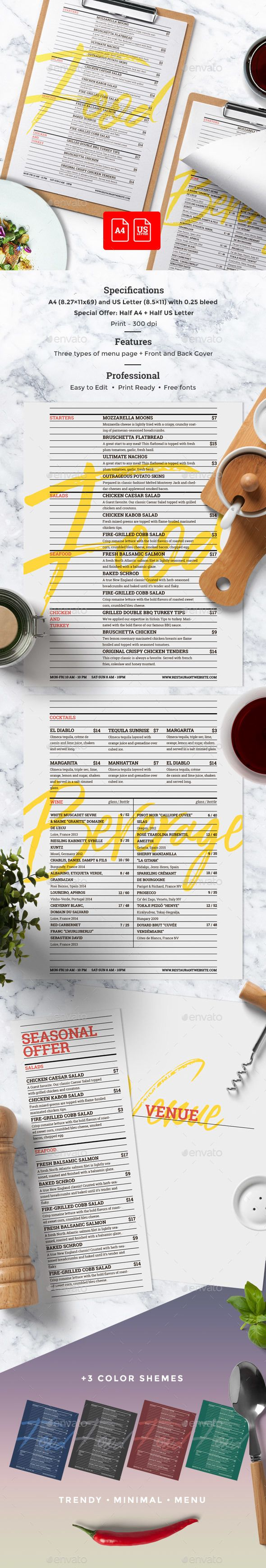 Cafe Menu | Pinterest