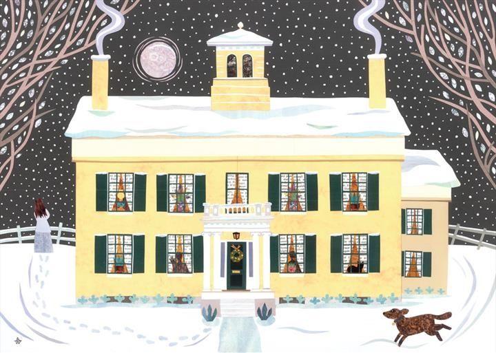 Amanda White. The Homestead, Massachusetts home of poet Emily Dickinson.