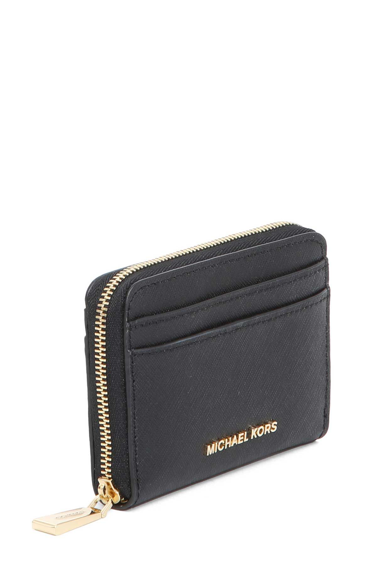 MICHAEL MICHAEL KORS MICHAEL MICHAEL KORS BLACK LEATHER SMALL ...