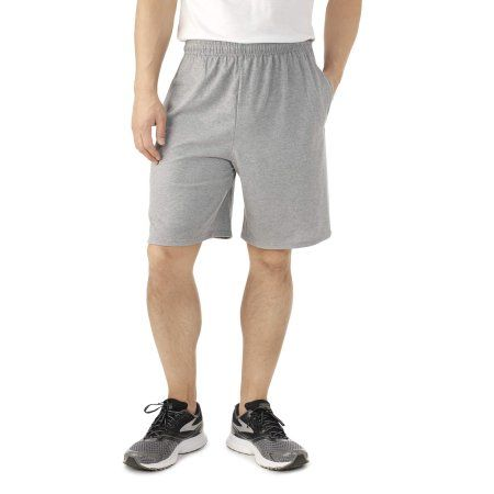 Fruit of the Loom Mens Jersey Short with Side Pockets