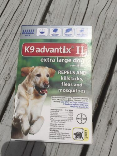K9 Advantix II XL Extra Large Dog OVER 55lbs 6pk 6 Months Supply https://t.co/oZCa7U0Txq https://t.co/t1lq4hNke2