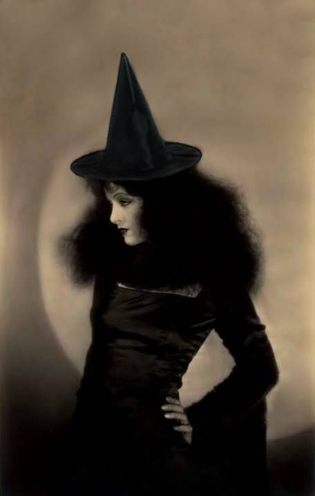 Witch from the olden days.