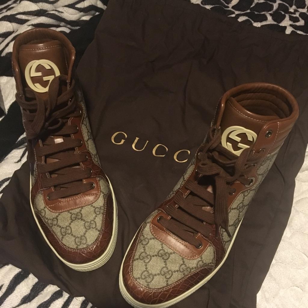 Gucci Shoes Mens Gucci Shoes Color Brown/Tan Size