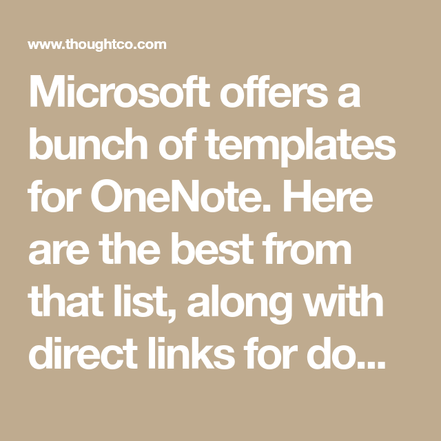 Having Trouble Finding OneNote Templates? Check Out These