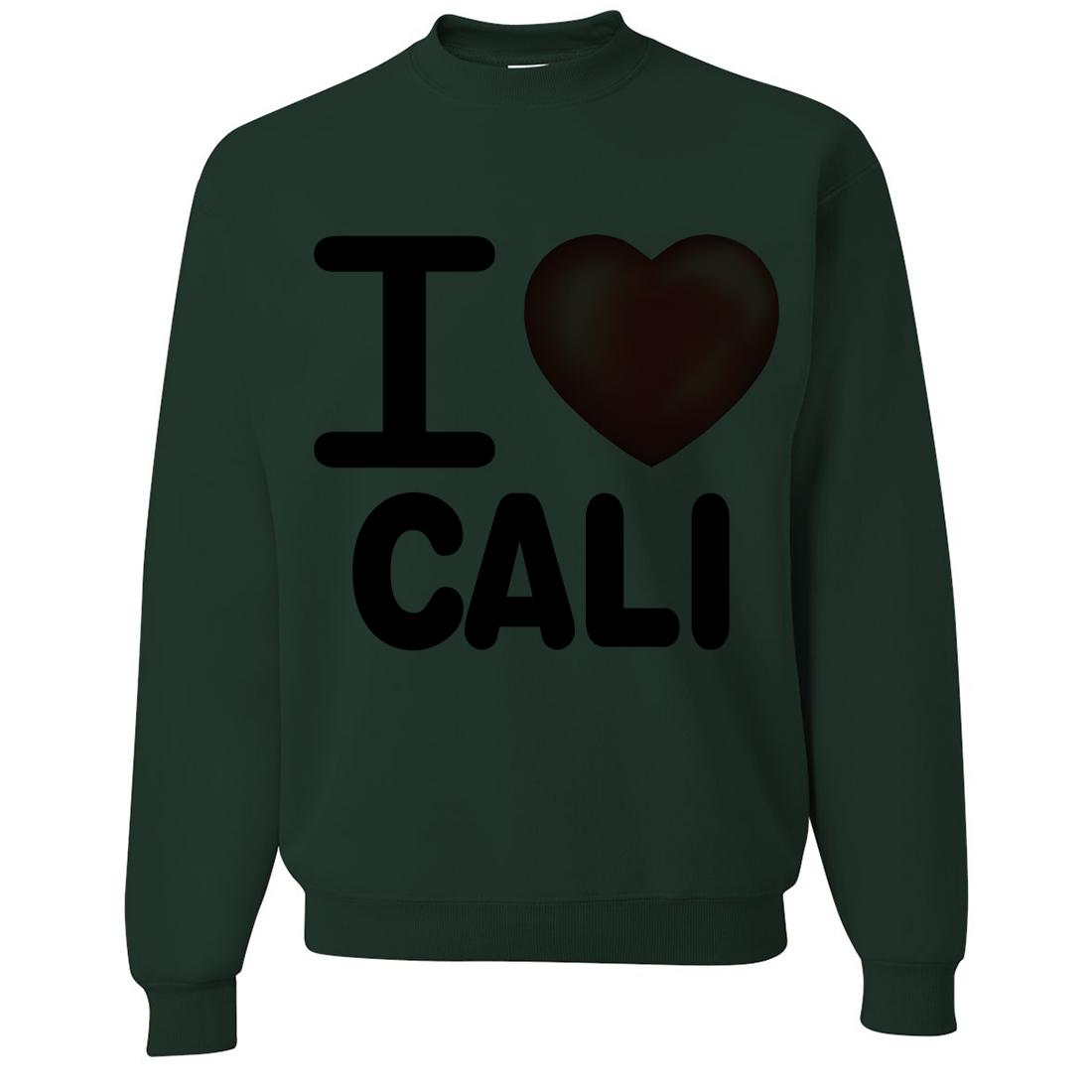I Heart Cali Crewneck Sweatshirt
