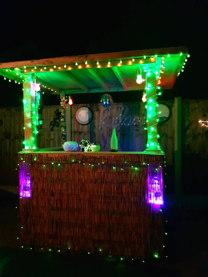 Bar with LED lights --- 50+ Best-d Pallet Bar Ideas & Projects ... Pallet Wall Pinterest Ideas Outdoor Lighting on pinterest pallet headboard, pinterest pallet diy, pinterest pallet walls bathroom, pinterest pallet gardening, pinterest dividers pallets, pinterest wall decorating pallets, pinterest pallet projects, diy pallet wall ideas, pallet decorating ideas, pinterest pallet holiday decor, pinterest pallet christmas, pinterest wood projects, pinterest pallet upcycling, pinterest shelves,