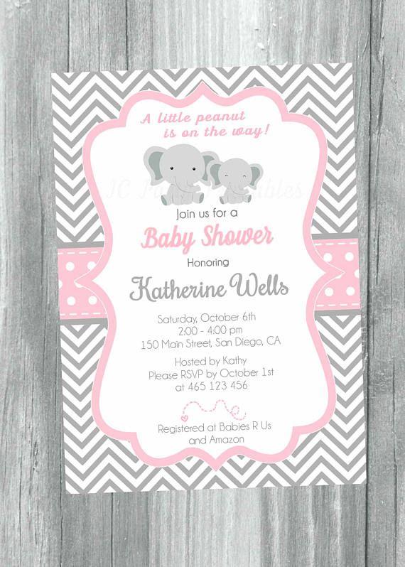 Grey and pink chevron baby shower invitation digital file misc grey and pink chevron baby shower invitation digital file filmwisefo