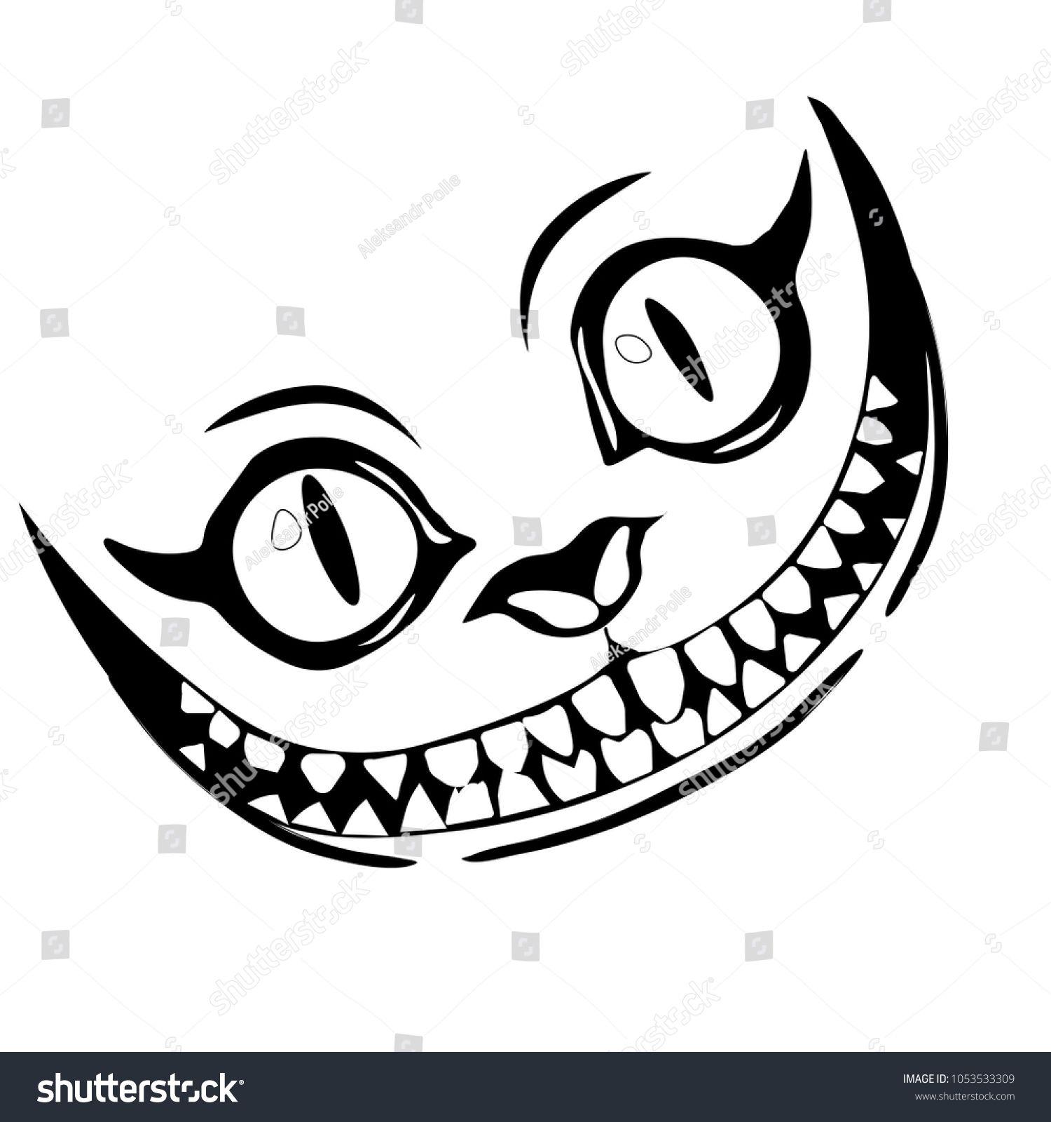 Grin Like A Cheshire Cat Cheshire Cat Tattoo Cheshire Cat Drawing Cheshire Cat Art