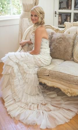 4b349500 Lazaro 3059: buy this dress for a fraction of the salon price on  PreOwnedWeddingDresses.com