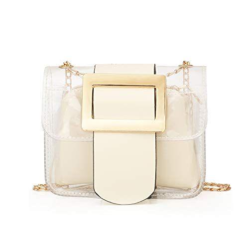 Clear Purse 2 In 1 Transparent Shoulder Bag For 9 99 Uhotdeals
