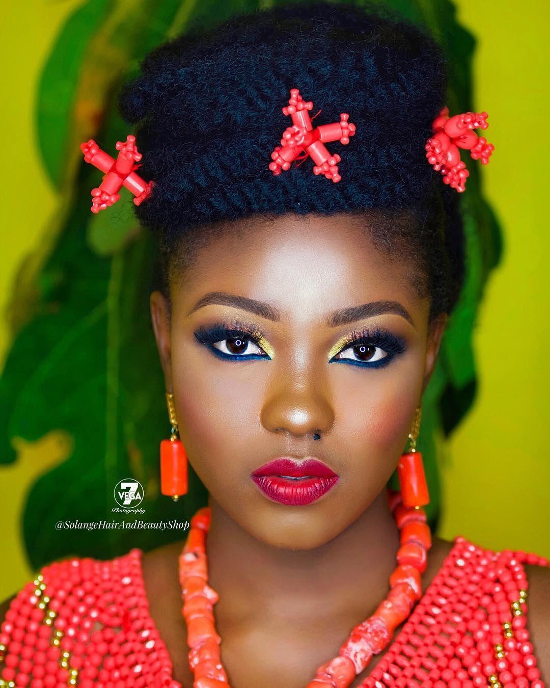 Wedding Hairstyles In Nigeria: Nigeria Beauty Artist. Black