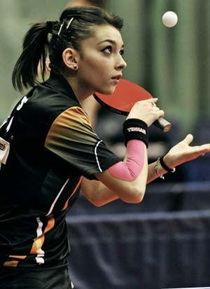 Bernadette Szocs Google Search Table Tennis Ping Pong Sports