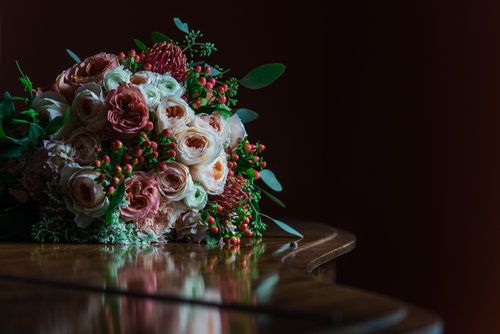 Wedding bouquet   Photo by Jamie Ivins Photography