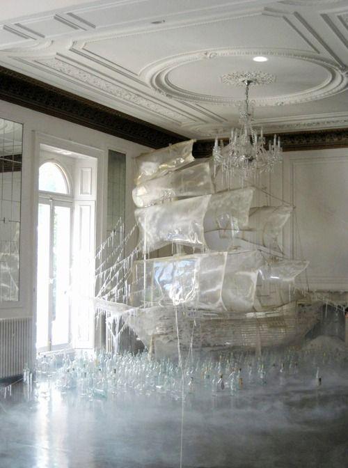 likeafieldmouse: Rhea Thierstein's Ice Boat (2011)