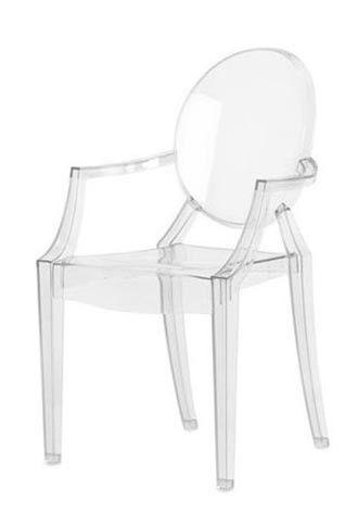 Louis Ghost Chair (Set of 2) #salledejeuxenfant