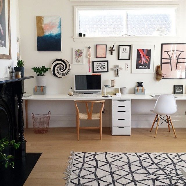 West Elm Australia On Instagram Working From Home Just Got A Whole Lot More Stylish Great Space By Geelong Based Styli Counseling Office Decor Home Interior